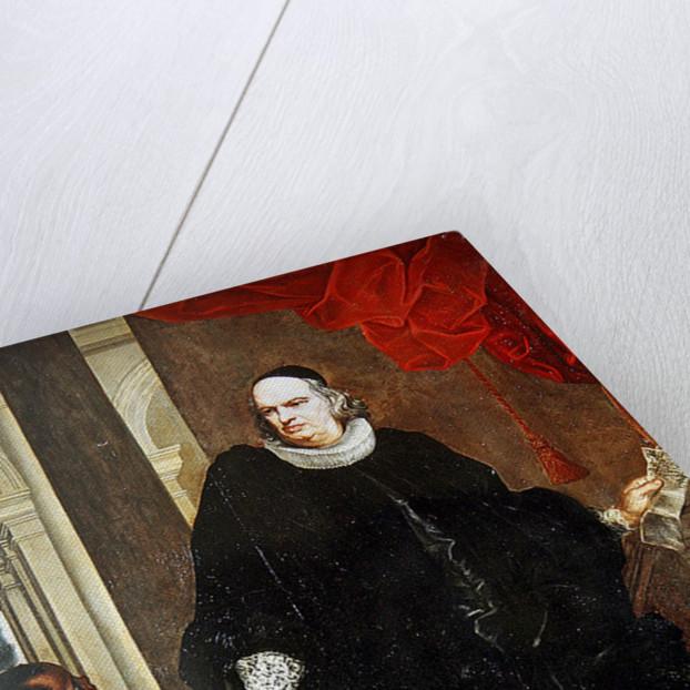 Portrait of P. Franzone by Giovanni Bernardo Carboni