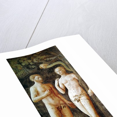 The Temptation of Adam and Eve by Tommaso Masolino da Panicale