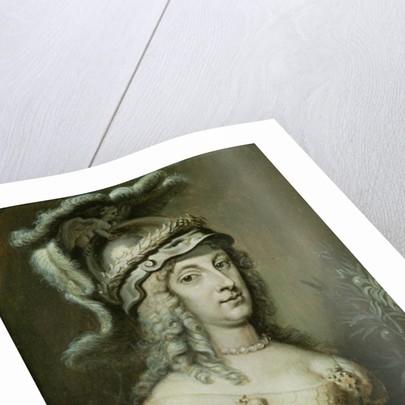Allegorical Portrait of Queen Christina of Sweden by Erasmus Quellinus