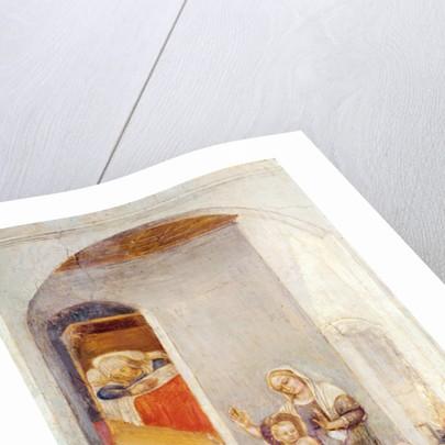 The Birth of St. Nicholas by Gentile da Fabriano