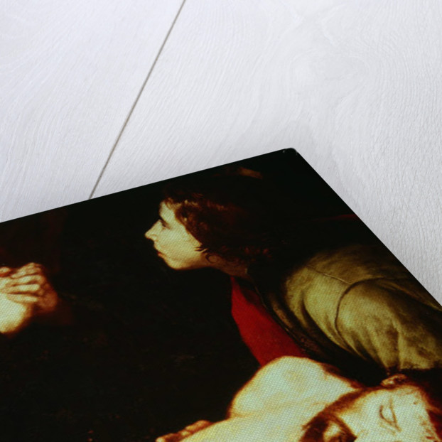 Detail of the Descent from the Cross by Jusepe de Ribera