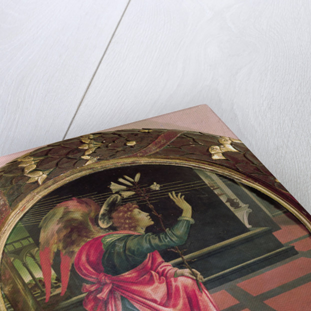 The Angel of the Annunciation by Filippino Lippi