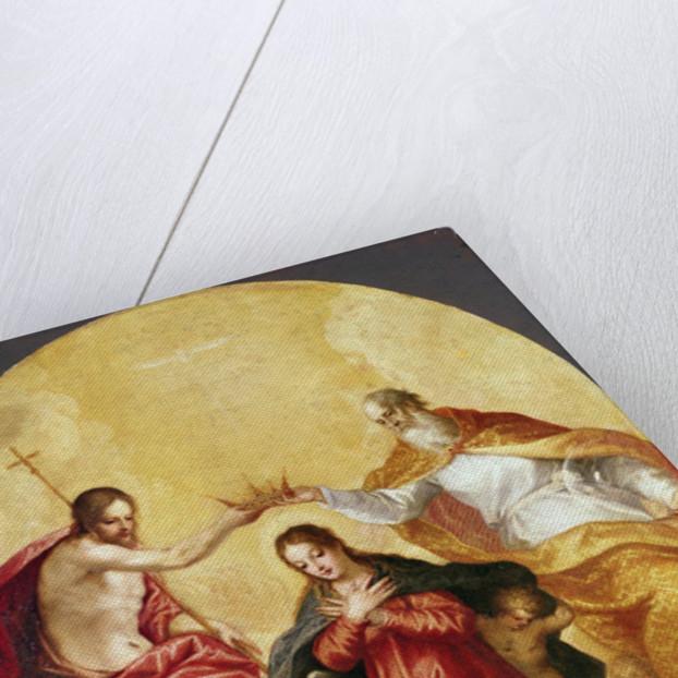 Coronation of the Virgin by Hans I or Johann Rottenhammer
