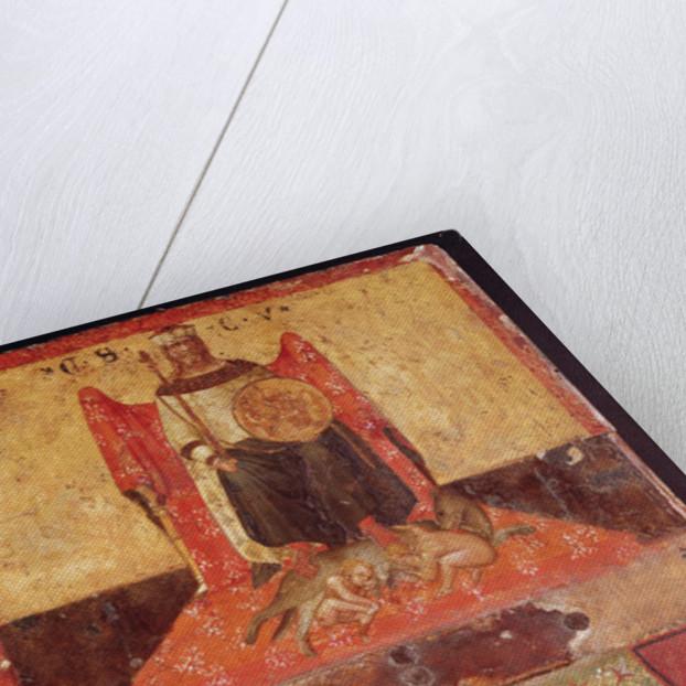 Biccherna of Good Government by Ambrogio Lorenzetti