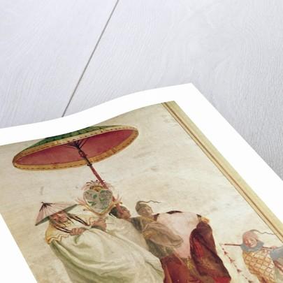 The Walk of the Mandarin by Giandomenico Tiepolo