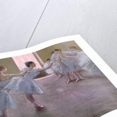 Dancers at Rehearsal by Edgar Degas