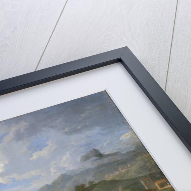 Landscape by Gaspard Poussin Dughet