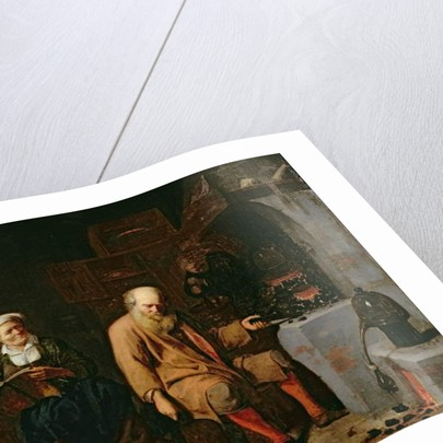 The Alchemist by David III Ryckaert