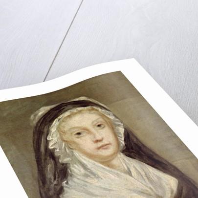 Marie Antoinette at the Conciergerie by Sophie Prieur