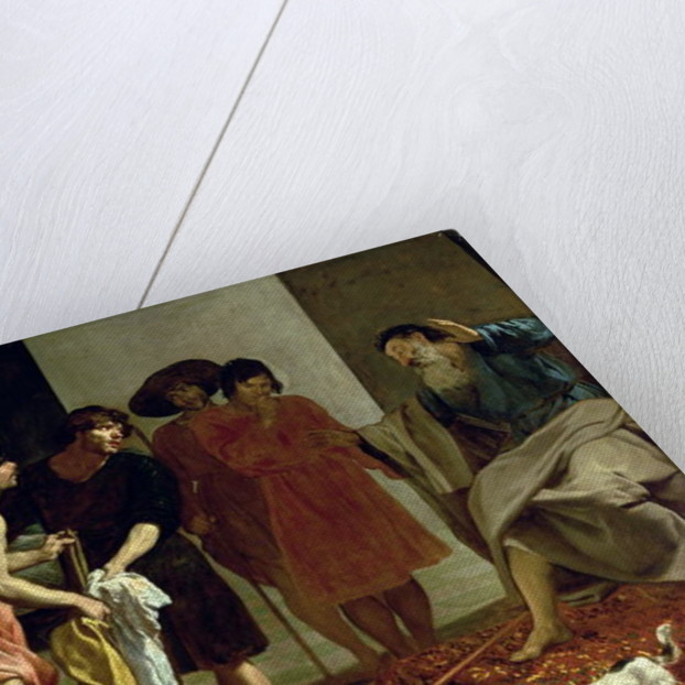 Joseph's Coat by Diego Rodriguez de Silva y Velazquez