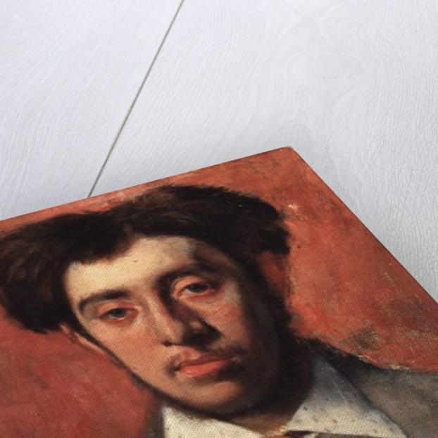 Portrait of Albert Melida by Edgar Degas
