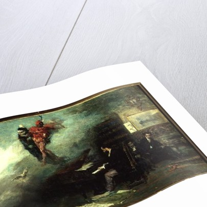 Recalling the Faust Fantasy by Mariano José María Bernardo Fortuny y Carbó