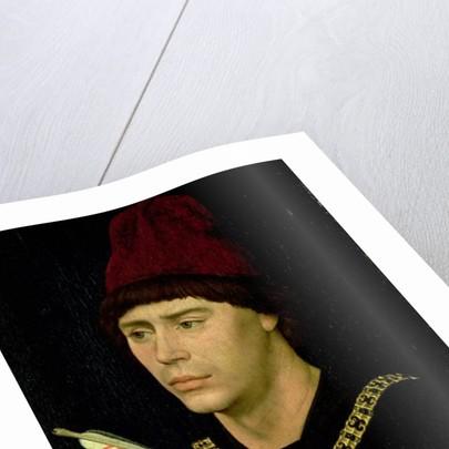 Portrait of Antoine bastard of Burgundy, Knight of the Order of the Golden Fleece by Rogier van der Weyden
