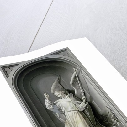 The Angel of the Annunciation by Hugo van der Goes