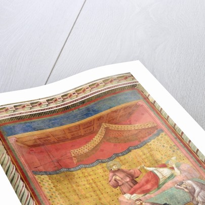 The Vision of Pope Gregory IX by Giotto di Bondone