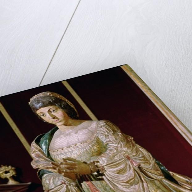 Isabella of Castile in Prayer by Felipe Vigarny