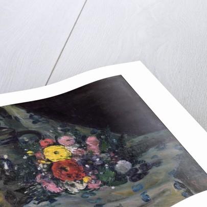 Bouquet of Yellow Dahlias by Paul Cezanne