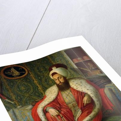 Sultan Selim III by Konstantin Kapidagli