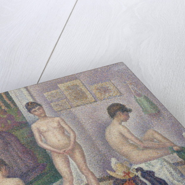 The Models by Georges Pierre Seurat