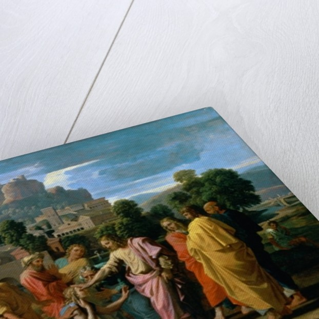 The Blind of Jericho, or Christ Healing the Blind by Nicolas Poussin