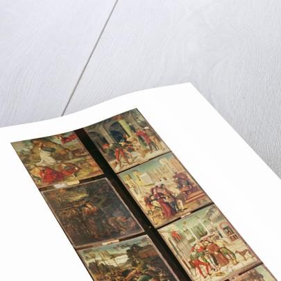 Left panel of the Retable of the Passion by Antonio Ronzen