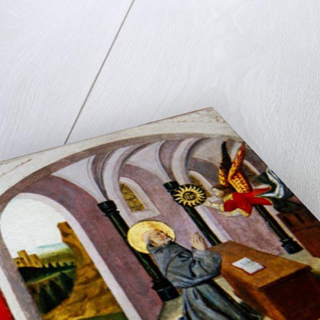 Saint Bernardino of Siena with two Donors by Pierre Villatte
