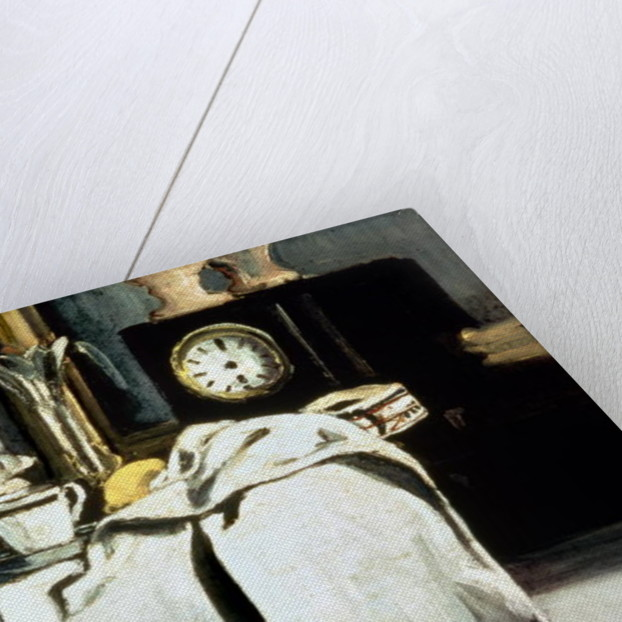 The Black Marble Clock by Paul Cezanne