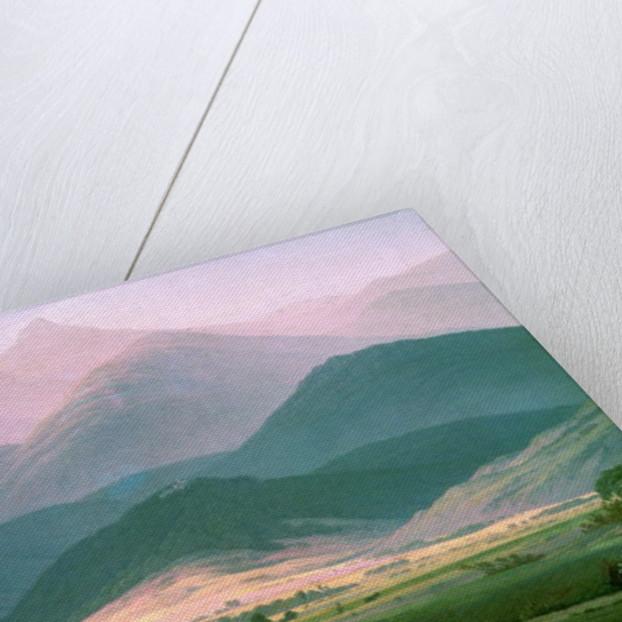 Landscape in the Riesengebirge by Caspar David Friedrich