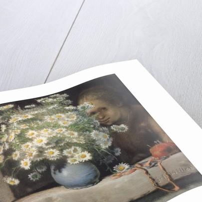 The Bouquet of Margueritas by Jean-Francois Millet