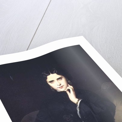 Portrait of Jeanne de Tourbay by Eugene Emmanuel Amaury-Duval