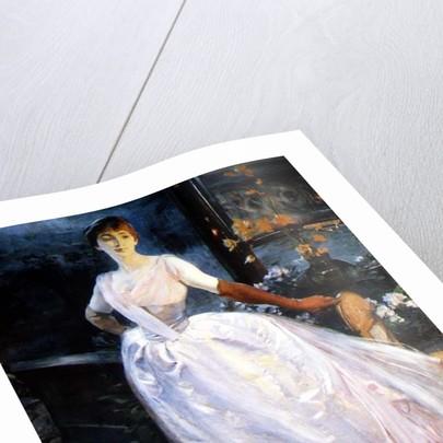 Portrait of the Artist's Wife, Madame Roger Jourdain by Paul Albert Besnard