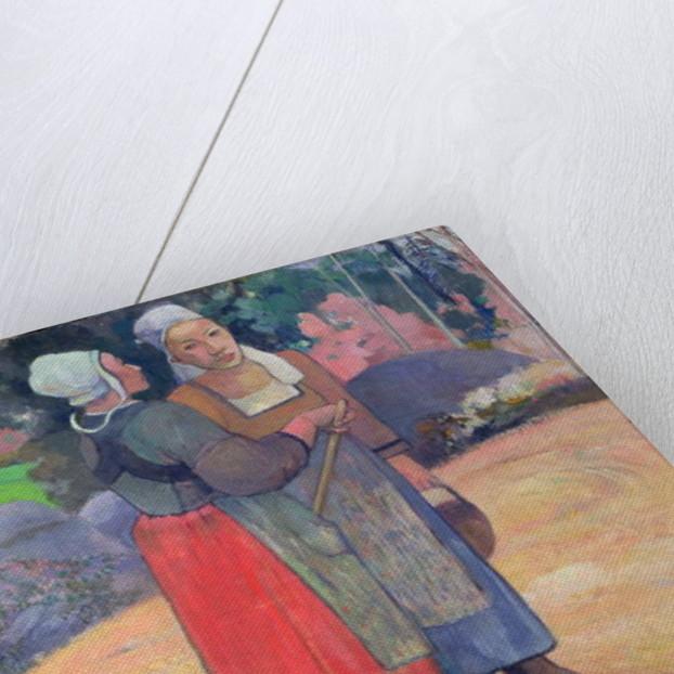 Breton Peasants by Paul Gauguin
