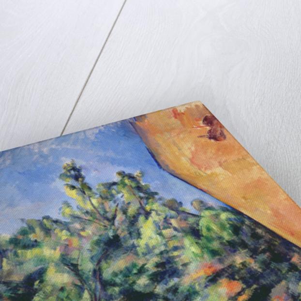 Red rock by Paul Cezanne