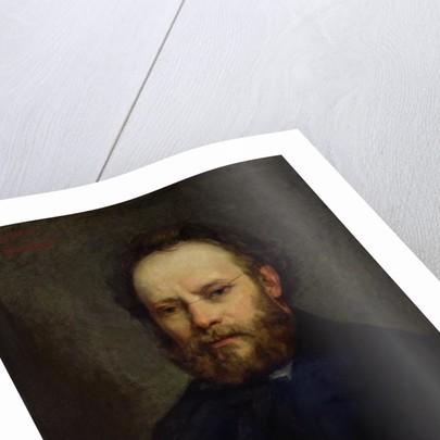 Portrait of Pierre Joseph Proudhon by Gustave Courbet