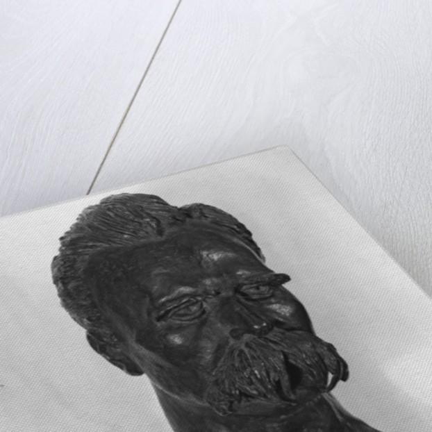 Bust of Friedrich Nietzsche German philosopher by Max Klinger