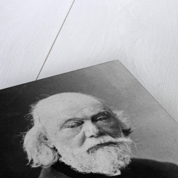 Portrait of Auguste Barthélemi Glaize by J. E. Tourtin