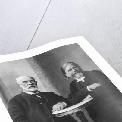 Cato Guldberg and Peter Waage by Norwegian Photographer
