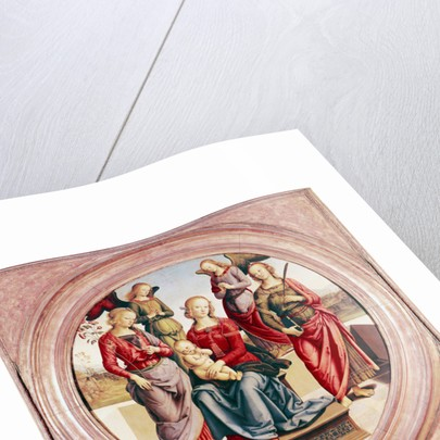 Madonna and Child with St. Rose and Catherine of Alexandra by Pietro Perugino