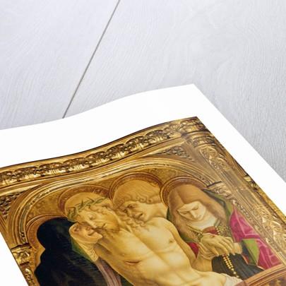 Altarpiece of St Emidio by Carlo Crivelli