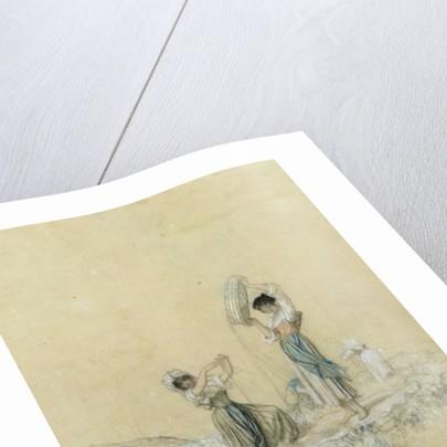 The Winnowers by Antoine Auguste Ernest Herbert or Hebert