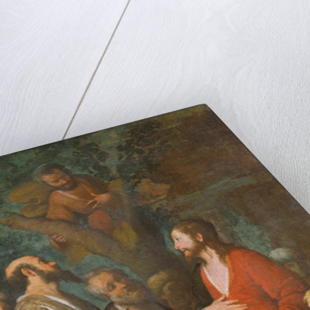 Conversion of Zaccheus by Bernardo Strozzi