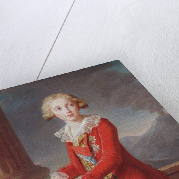 Portrait of Francis I of the Two Sicilies by Elisabeth Louise Vigee-Lebrun