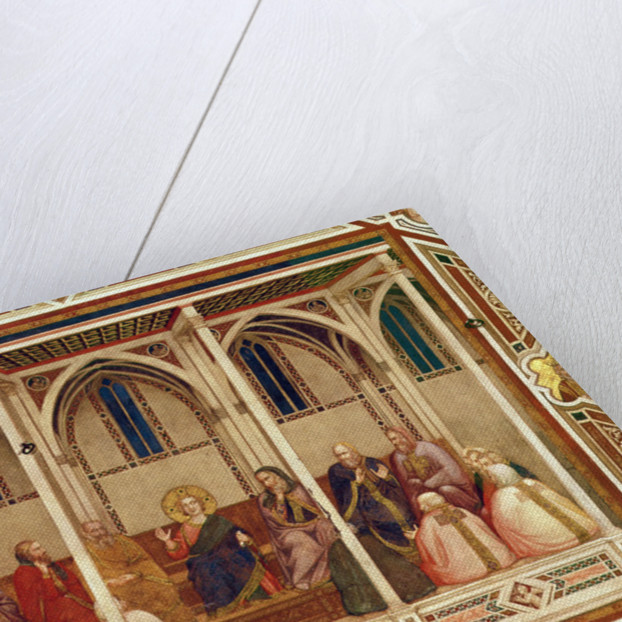 Jesus among the Doctors by Giotto di Bondone