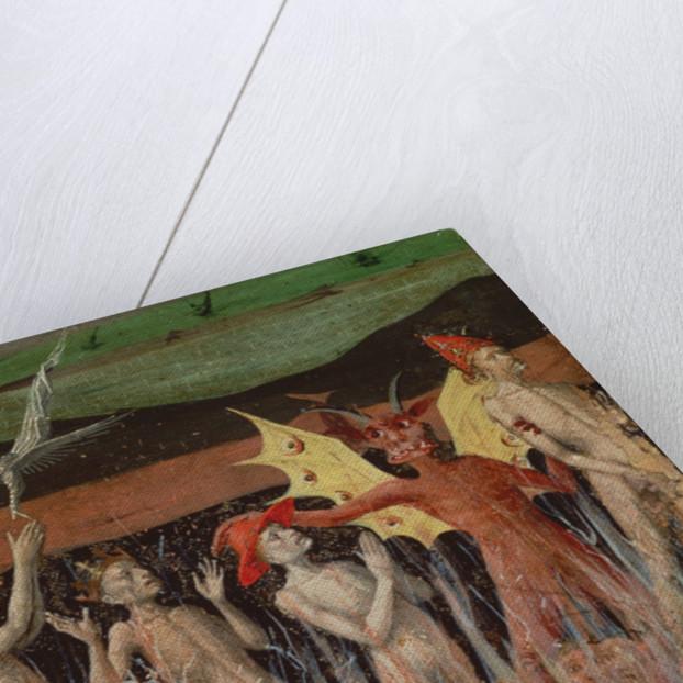 Resurrection of the dead, demon by Enguerrand Quarton