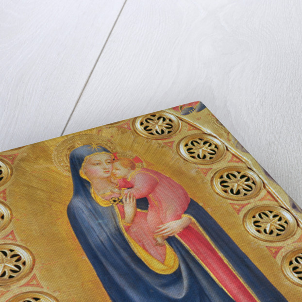 Virgin and Child also called Virgin and the Star by Fra Angelico