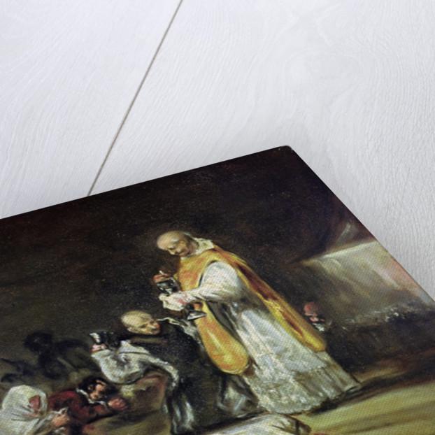 The Communion by Francisco Jose de Goya y Lucientes