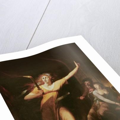 Lady Macbeth Sleepwalking by Henry Fuseli