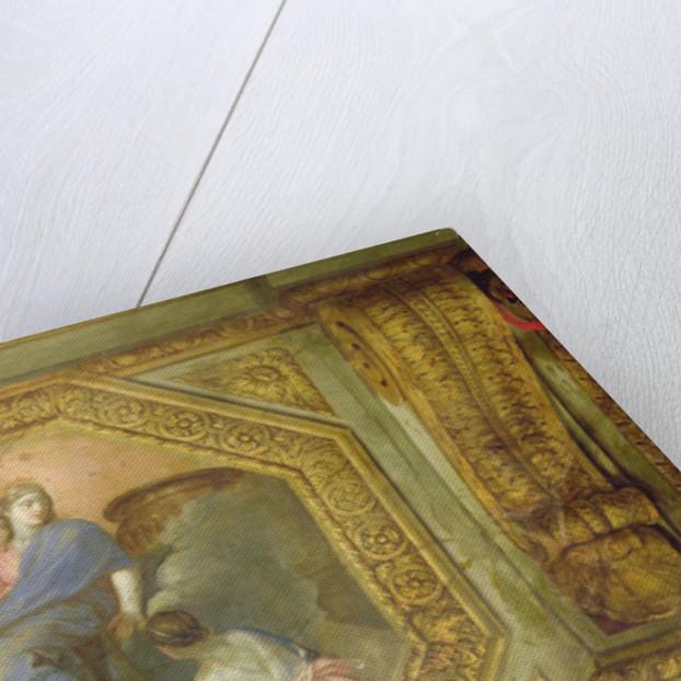 Ceiling of the Hôtel de La Rivière by Charles Le Brun