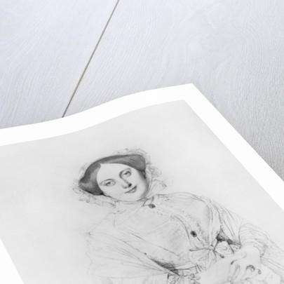 Portrait of Madame Ingres by Jean Auguste Dominique Ingres