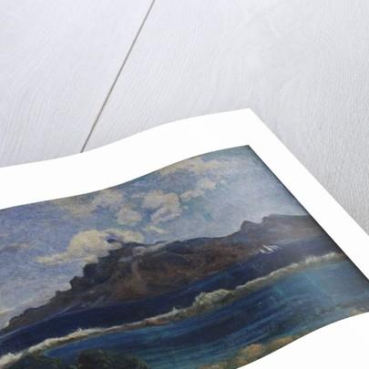 Coastal Martinique Landscape by Paul Gauguin